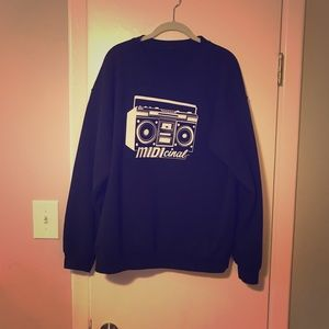 Sweaters - band crew neck